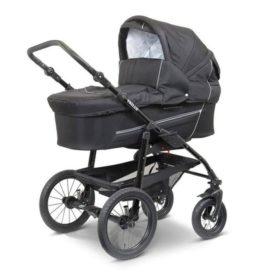 Sort barnevogn til baby
