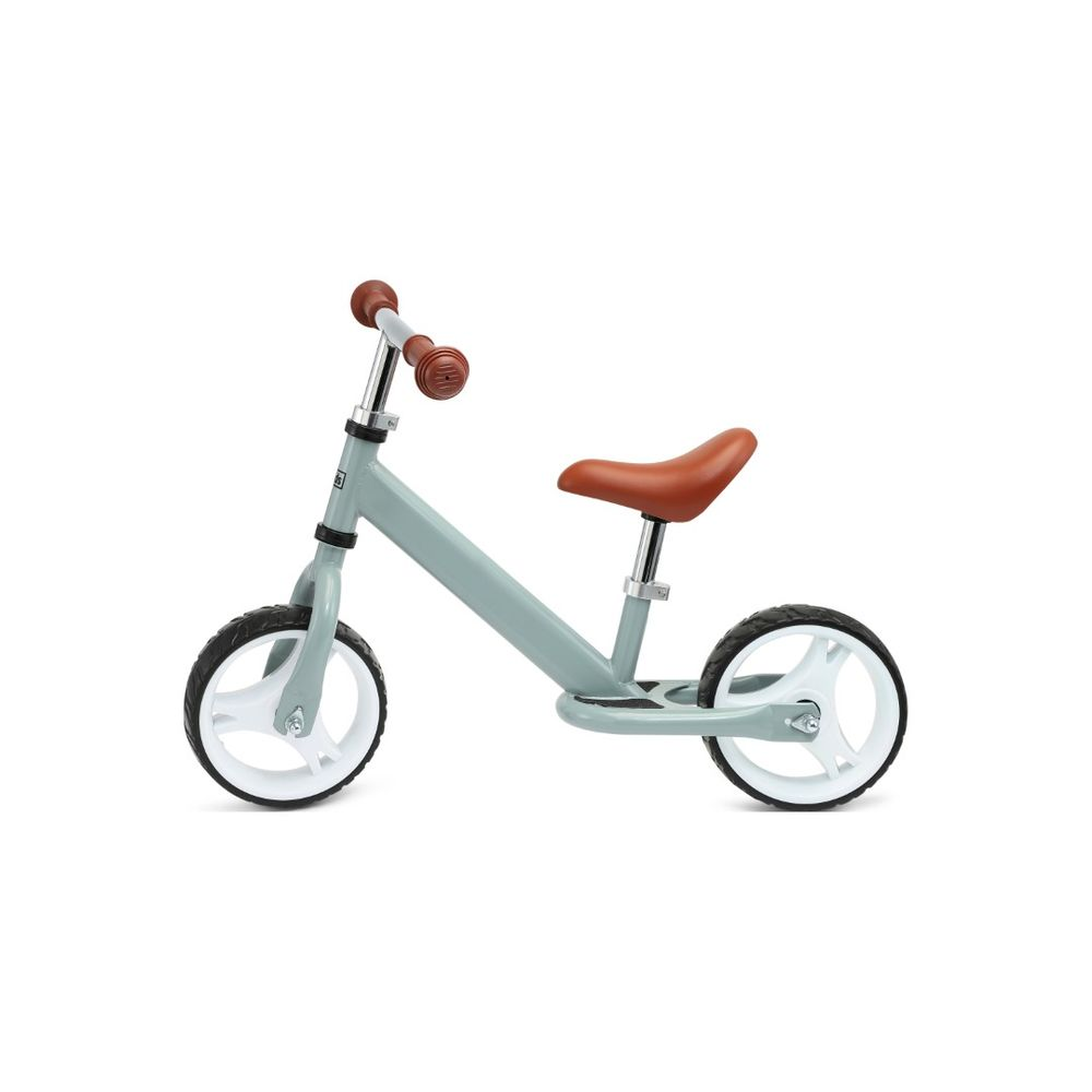Brun og sølv løbecykel