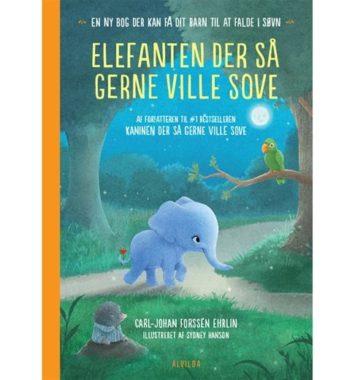 Bog elefanten der så gerne ville sove - Tildenlille