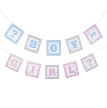 Boy or girl babyshower