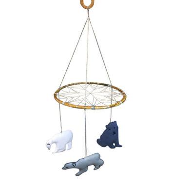 Drømmefanger med isbjørne