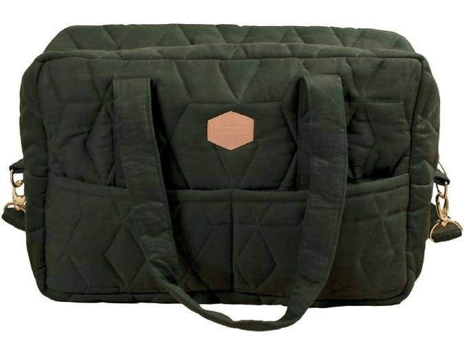 Filibabba Pusletaske - Soft Quilt - Mørkegrøn