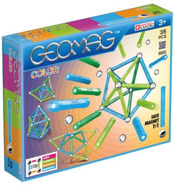 Geomag Byggesæt - 35 magnetiske figurer