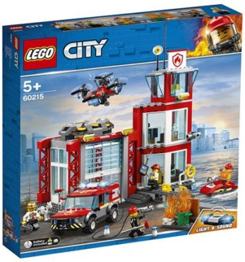 Lego city - Brandstation