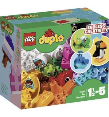 Lego duplo - sjove kreationer - Tildenlille