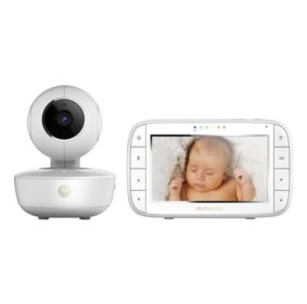 babyalarm med tablet display