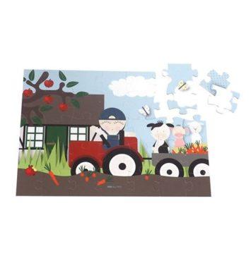 Puslespil bondegård - Tildenlille