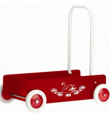 Rød gåvogn - Tildenlille