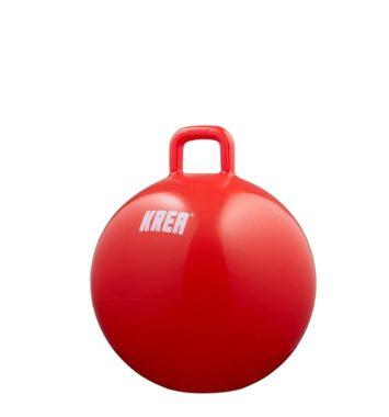 Rød hoppebold fra KREA