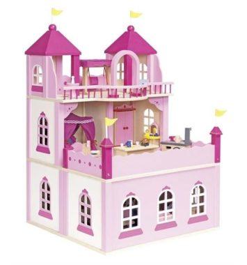 Stort dukkehus med 2 etager - TIldenlille