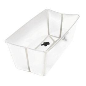 Hvid folbart baby badekar