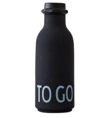 design letters drikkeflaske