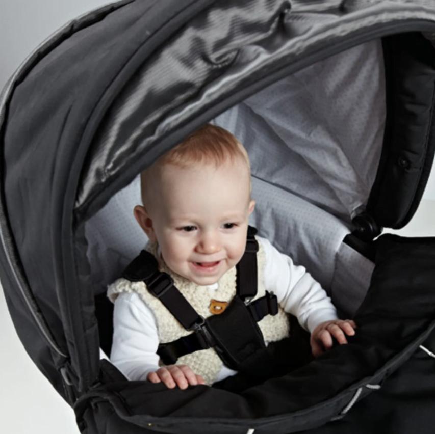 baby dan barnevognssele lux