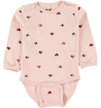 Babystocking med søde hjerter