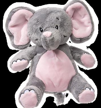 elefant lyserød