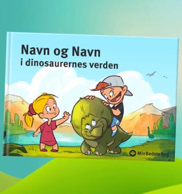 personlig bornebog dinosaurer